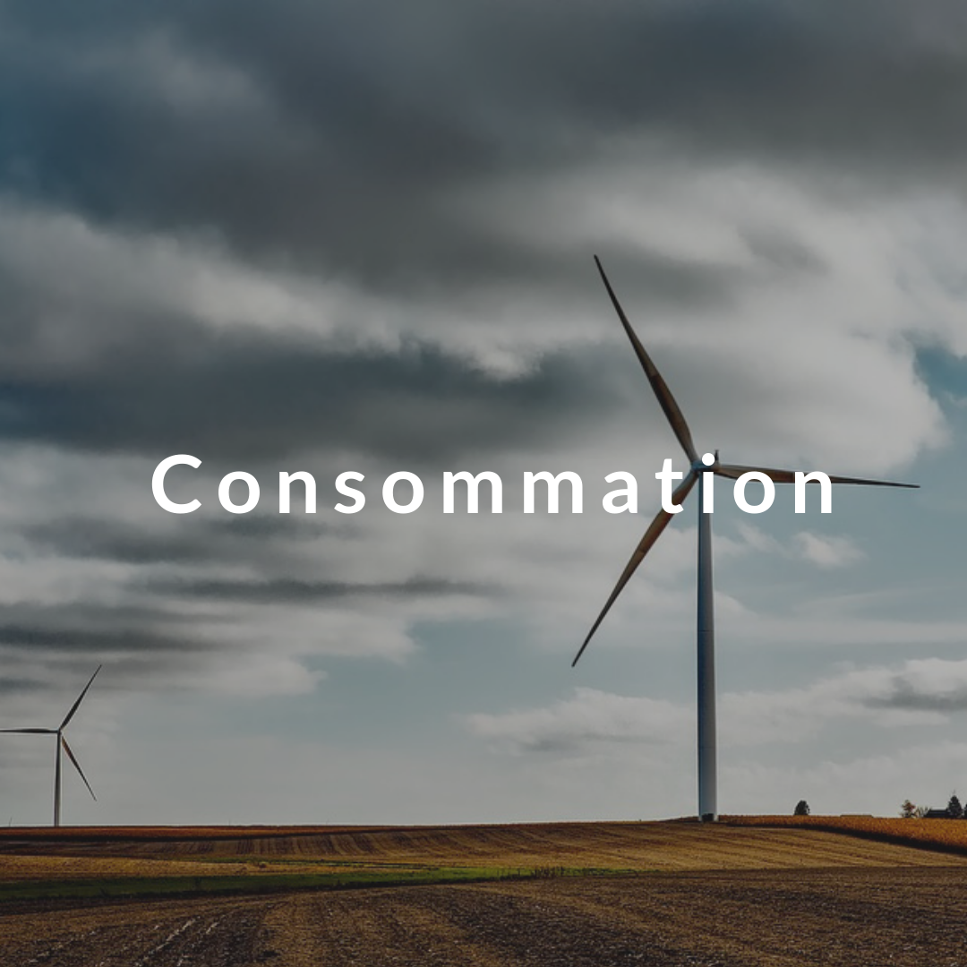 Consommation - Solaire - Eolienne